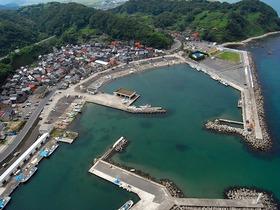 ある港の風景
