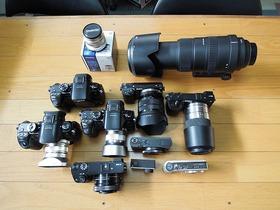 カメラの数々