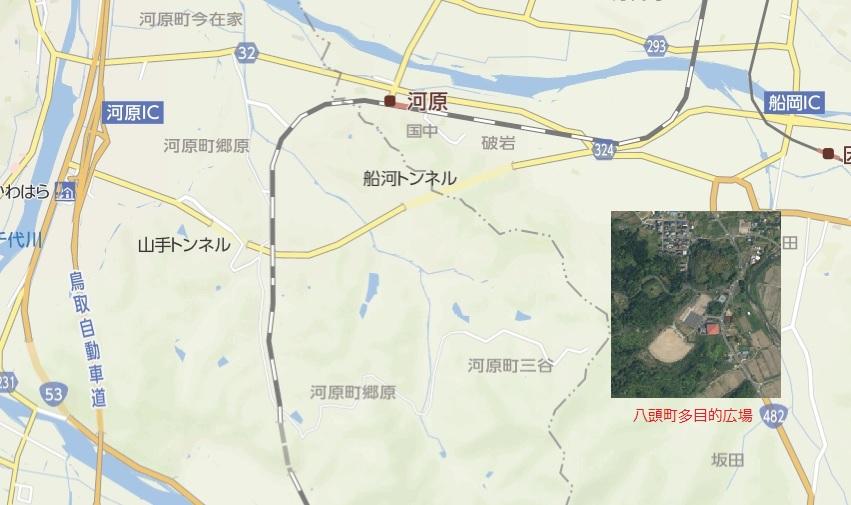 多目的広場詳細地図